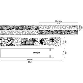 DYEDBRO Aotearoa Frame Protection Kit, transparent/noir